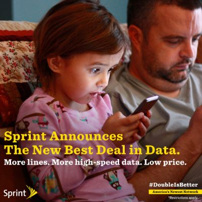 Sprint Family Share Pack: The Best Deal in Data #ItsANewDayForData #ad