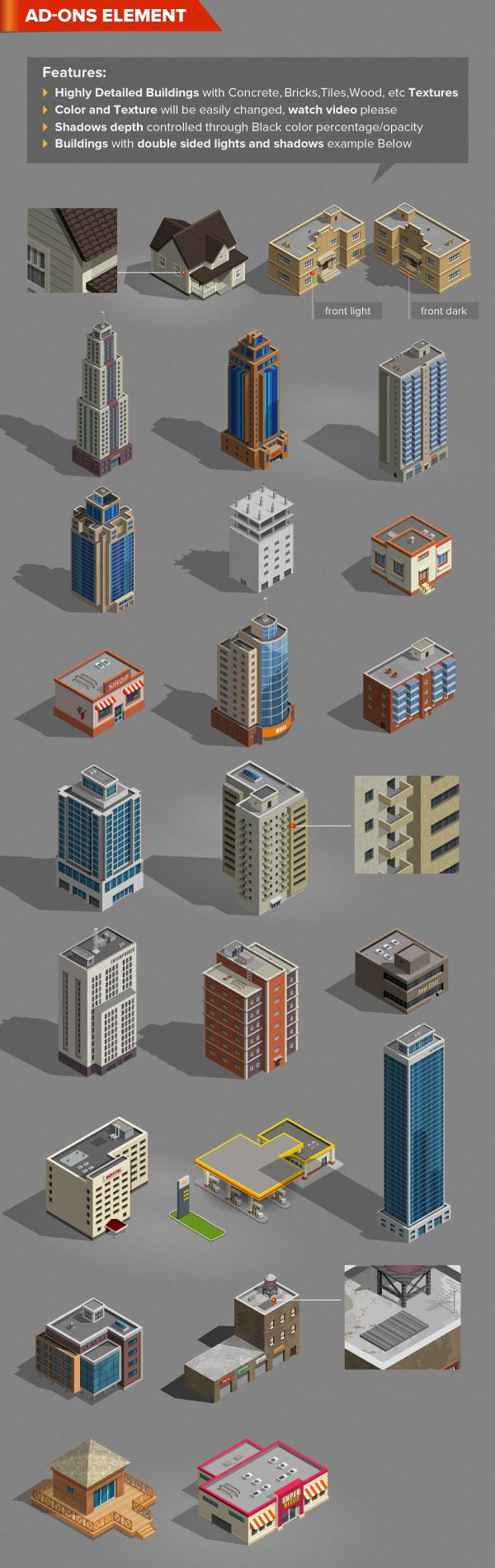 Isometric Map Generator