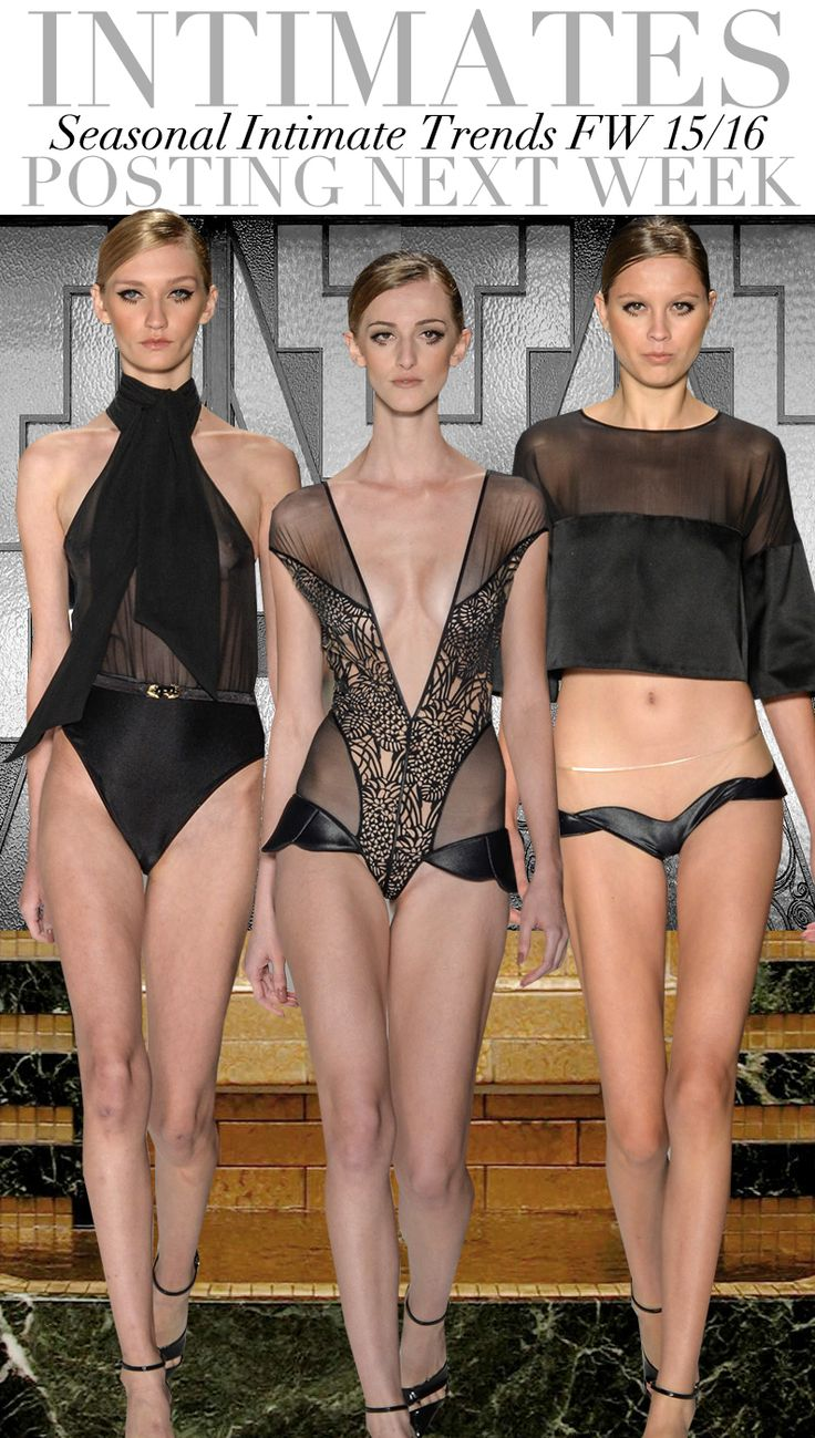 Trend Council: Intimates - FW 15/16 Trends #üçgengezegenler #fashion #trends