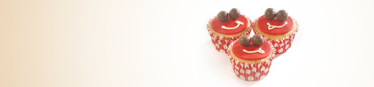 Get the recipe for delicious Maltesers smiley cupcakes for your bake sale and help #bakeamillion for Red Nose Day.
