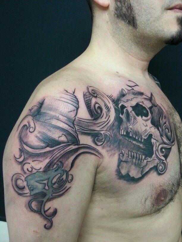 AC/DC Tattoo ink