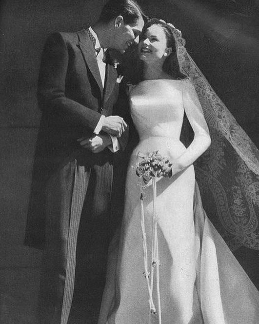 Vogue July 1975 by Karen Radkai. Old school glamour at it's best!  #WeddingPlannerLoves #weddinginspiration #wedspiration #bridal #bridalfashion #fashion #vogue #vintage #oldschool #retro #glamour #1950s #weddingplanning #weddingideas #weddingdress #tuxedo #morningsuit #brideandgroom #happycouple #bride #bridetobe #love by weddingplanner.co.uk