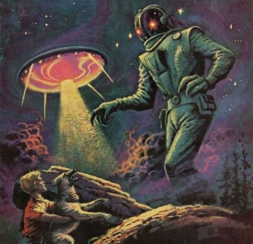 146 Best Images About Vintage Sci Fi Pictures On Pinterest: 17 Best Images About SCI-FI ALIENS On Pinterest
