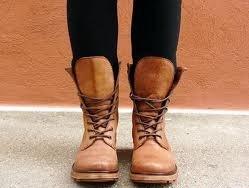 Combat Boots.
