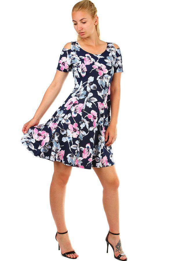 a6ab10a60fd1 Krátké letní šaty s květinami - koupit online na Glara.cz