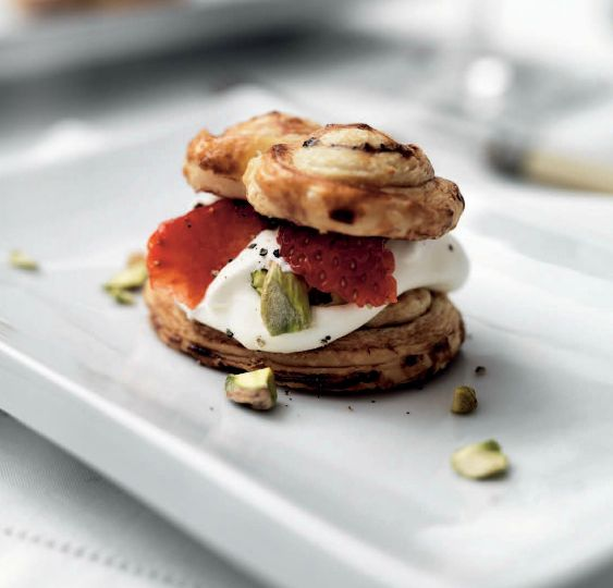 Miele Summer Recipe: Strawberry and Red Pepper Palmiers