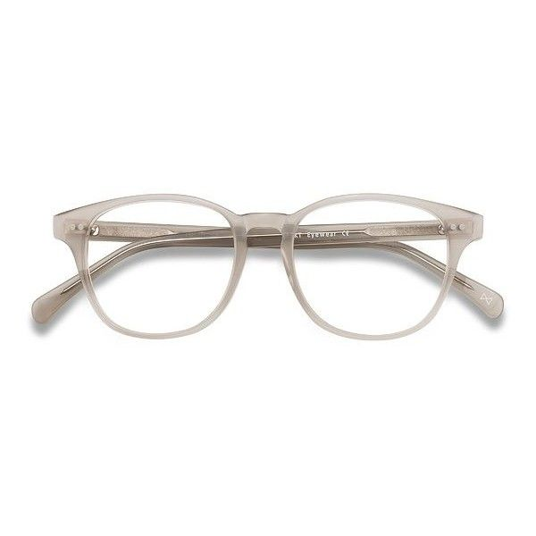 Men's Lucid - Clear Gray square - 18933 Clear Gray Rx Eyeglasses ($70) ❤ liked on Polyvore featuring men's fashion, men's accessories, men's eyewear, men's eyeglasses, mens eyewear and mens eyeglasses