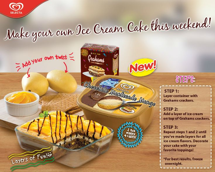 Selecta Ice Cream Cake