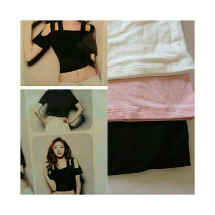 Crop top ! Ready stock