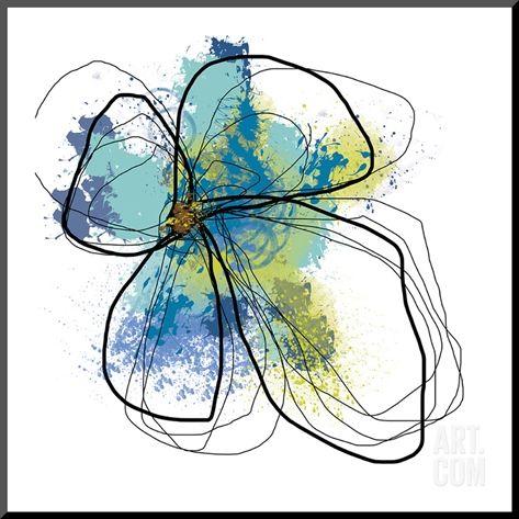 Jan Weiss-Azure Petals I