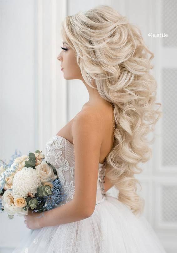 #bridesmaid #hairstyles #wedding #bridal #long #hair