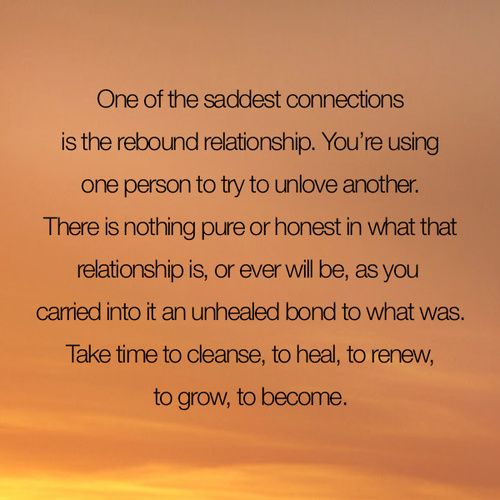 I love this quote! I would hate to be the rebound, and this is why I never will be! #secondbest .. not for me