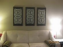 Easy Wall Art...looks easy!! so doing this!!