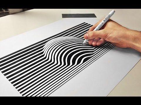 3d ball optical illusion