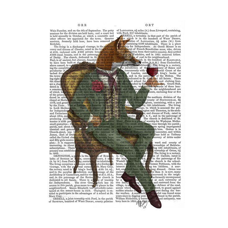 Discover the FabFunky Wine Taster Fox Print at Amara
