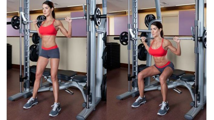 Fitness Workouts: Easy Smith Machine Full body Workout.