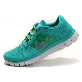 Nike Free Run+ 3 Herresko Grønn Grå   billig Nike sko   Nike sko norge   kjøp Nike sko   ovostore.com