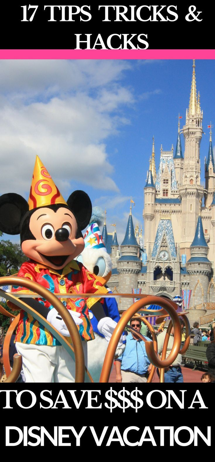 Disney World Tips & Tricks Is it possible to budget for Disney World without missing out? Yes! Saving money on a Disney World vacation is easy with these tips and tricks from a life long Disney traveling mother! I've put together a list of my best tips and money saving tricks for you to plan your family Disney vacation so you can save money and have fun without missing out on a thing! #DisneyWorld #DisneyWorldTips #traveltips