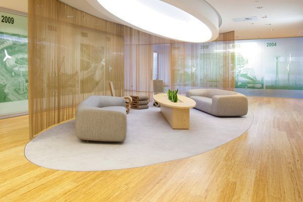 """Bamboo Flooring """"Natural""""  distributed by Ecologic Group"""