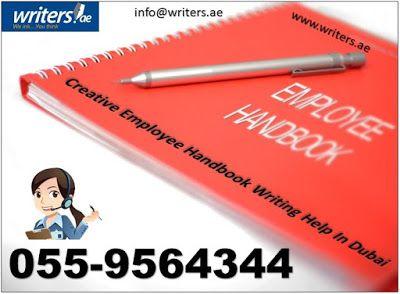 Writers.ae: How to Write an Employee Handbook: Key Points, Fol...