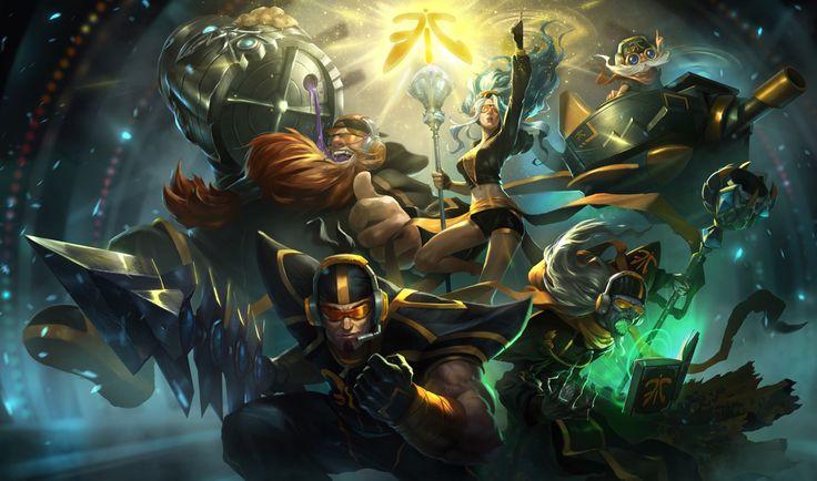 Fnatic Corki, Gragas, Janna, Jarvan IV, Karthus | League of Legends