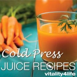 Vitality 4 Life's collection of cold press juice recipes. This is your portal for our wide selection of cold press juice recipes from the industry leader. #coldpressjuice #coldpressjuicerecipes #vitality4life