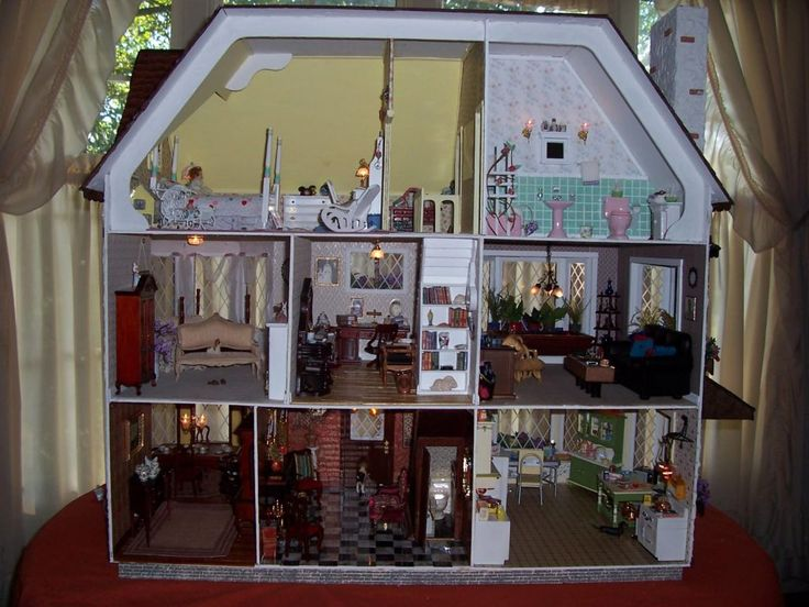 The Big Picture Harrison House Dollhouse Furniture