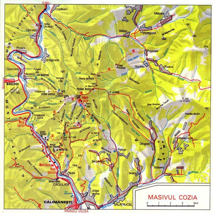 Trasee Masivul Cozia
