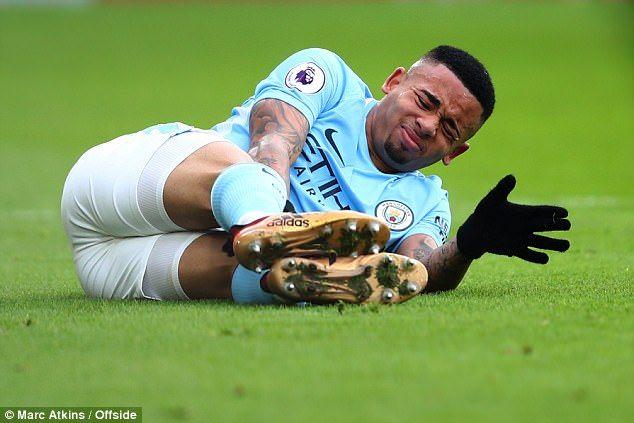 Manchester City yathibitisha Jesus kuwa nje kwa wiki mbili