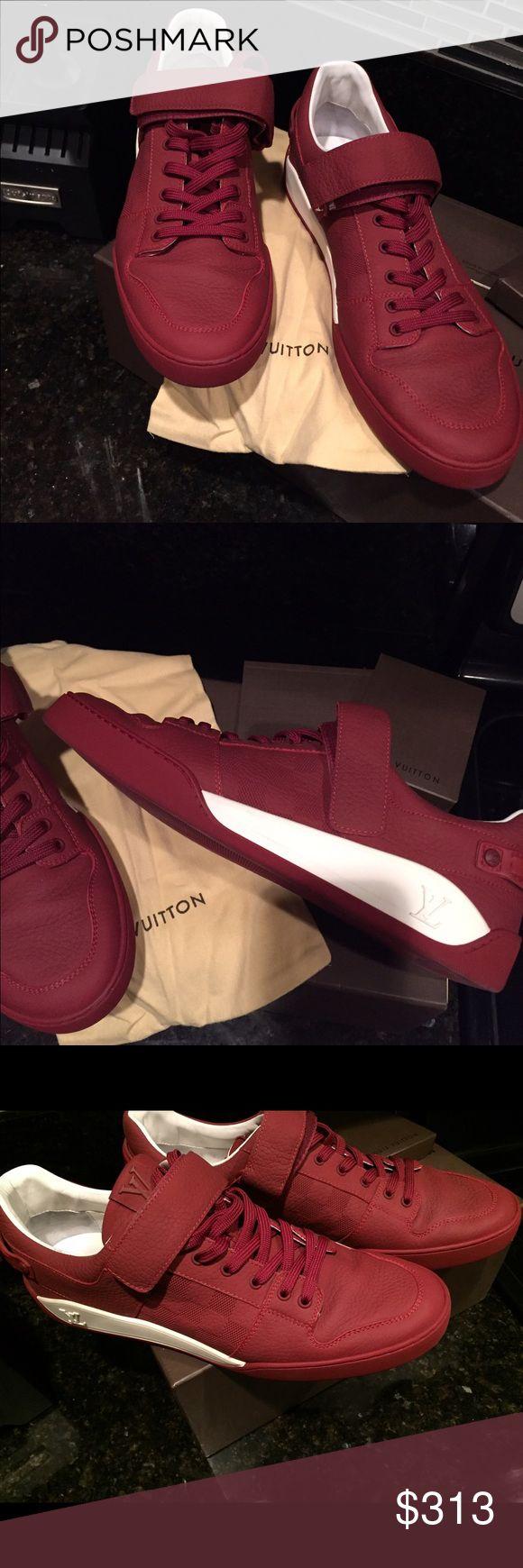 Authentic Men Louis Vuitton Sneakers Authentic Men Louis Vuitton  Men Sneakers Louis Vuitton Shoes Sneakers