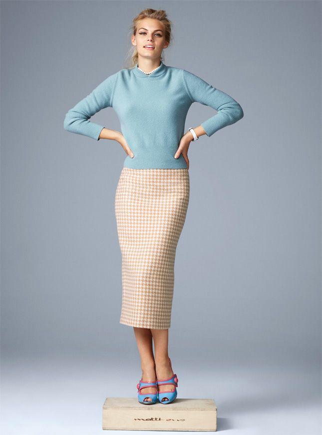Модные тренды осеннего сезона: голубой, золото, вещи в стиле этно, мини и пестрые принты   Glamour   Glamour.ru