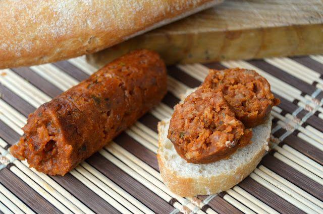 Pasión y Tentación: Chorizo vegano de soja
