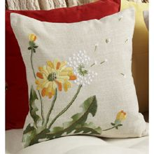 Fall Flowers Cushion Cover Kit