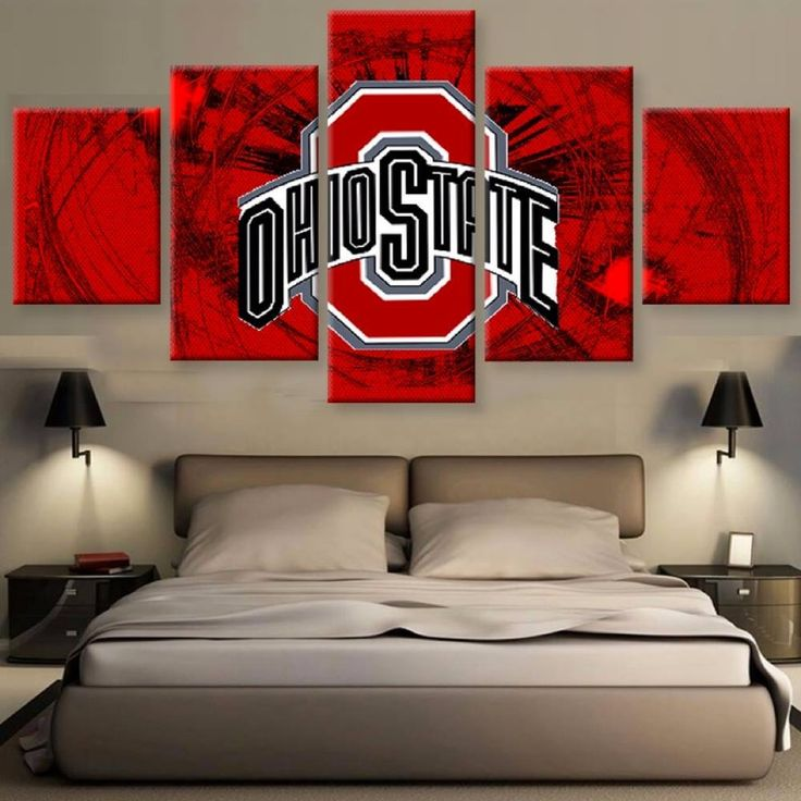 1000 ideas about ohio state decor on pinterest ohio state buckeyes the ohio state and ohio for Ohio state bedroom paint ideas