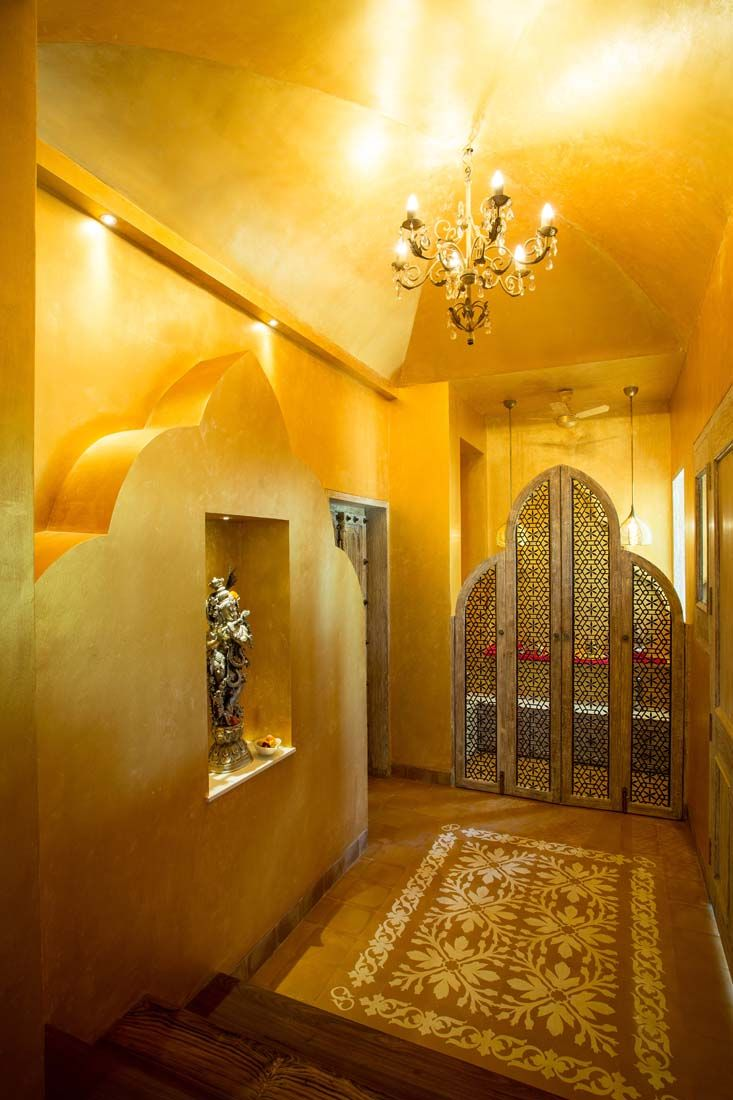 Puja room candle pinterest photos puja room and design for Pooja room interior designs