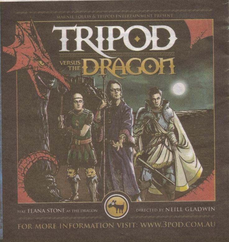 Tripod vs The Dragon - Fringe Act 2010