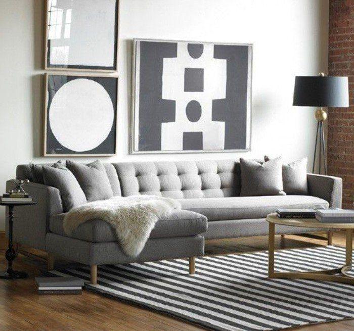 41 images de canapé d'angle gris qui vous inspire! Voyez nos propositions en photos!