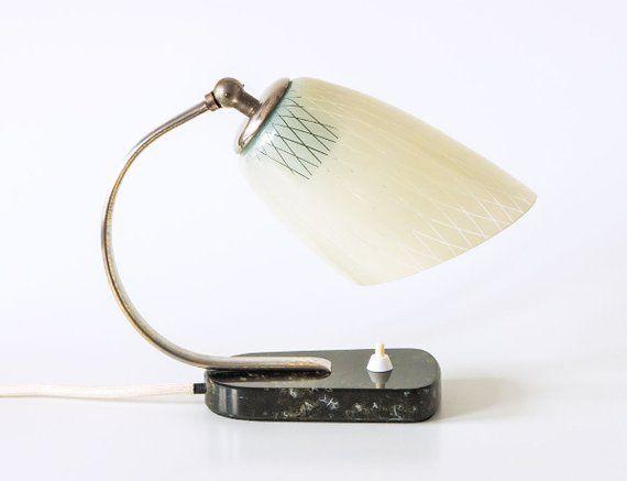Original Ddr Bauhaus Tischlampe Aus Den 50ern Art Deco Etsy Art Deco Mid Century Modern Lamp