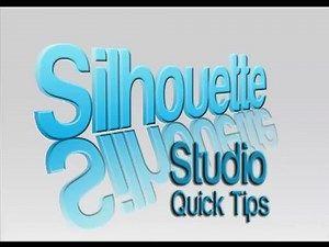 Silhouette Cameo tutorial -