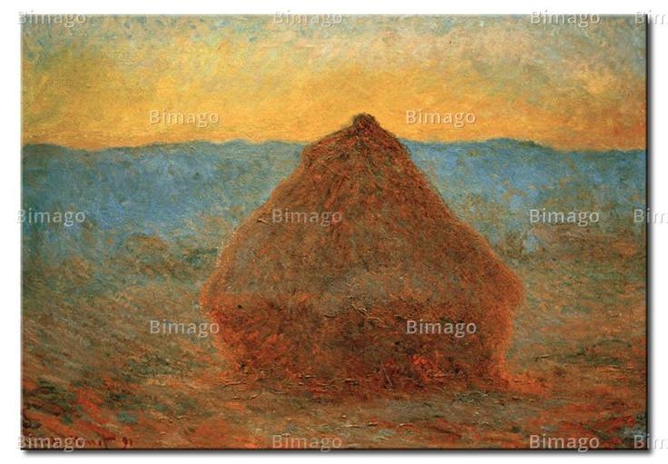 La ruota, vicino a Giverny - Claude Monet (quadri famosi su tela// famous painting on canvas)