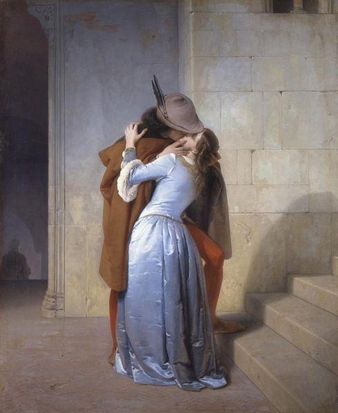 Il bacio di Francesco Hayez: in mostra a Milano le tre versioni del quadro