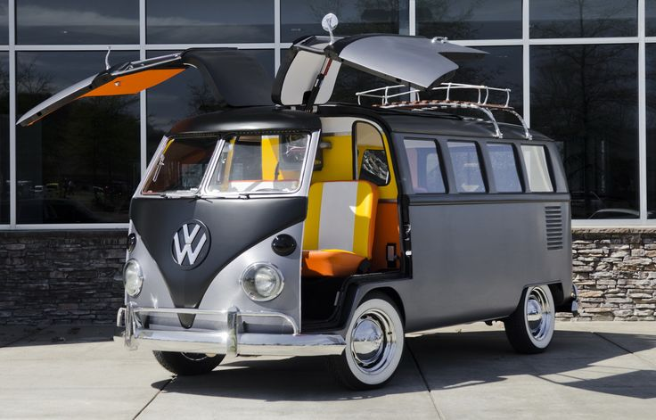 Cortland Finnegan's Back To The Future VW Bus