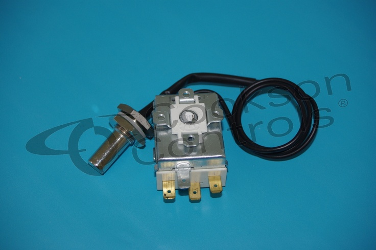 HOBART DISHWASHER  MODEL FM 40 THERMOSTAT FOR WASH TANK 60DEG COVERED CAPILLARY 600MM BUTTON BULB 14MM