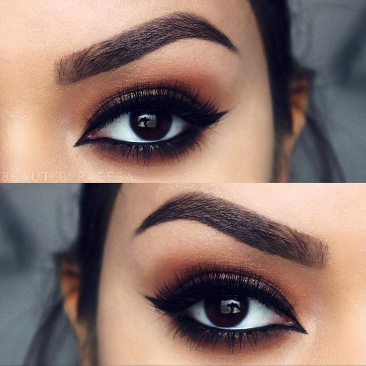 Warm browns, perfect for fall @beautybyraeesa BROWS: # ...