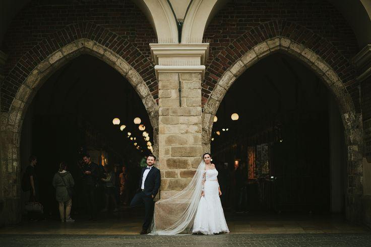 Plener ślubny w Krakowie - Sukiennice