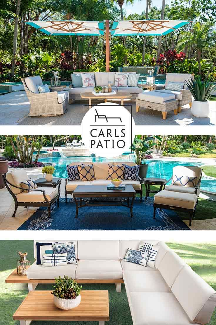 Soak Up The Sun In Style This Summer With Carls Patio ...