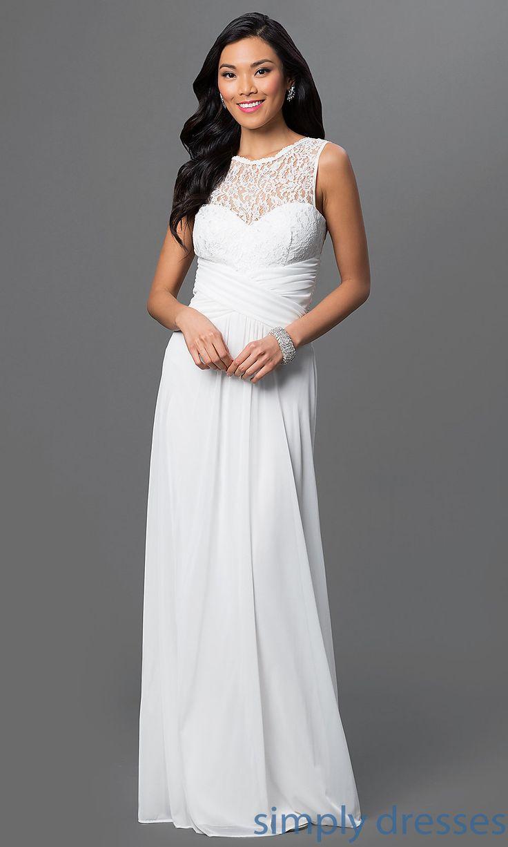 40 best bridal 2016 images on pinterest white prom for Simply white wedding dresses