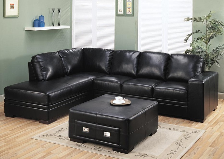 best 25+ black leather ottoman ideas that you will like on