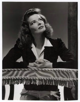 classy, comfortable, sexy, tailored confidence. 'never complain. never explain.' Katherine-Hepburn-1942.jpg 316×400 pixels