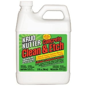 A safe alternative to muriatic acid. It is ideal for cleaning, degreasing, and acid etching concrete floors, walls, and basements prior to coating, staining, or sealing $13.11